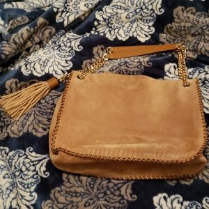 Michael Kors Tan Suede Handbag